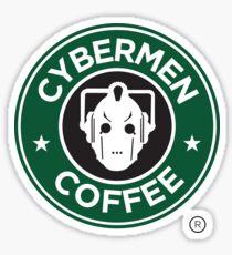 Cybermen Coffee Sticker