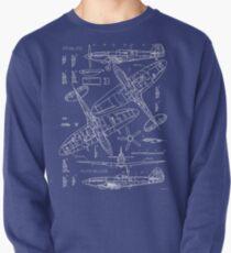 Spitfire Concept Blueprints Pullover