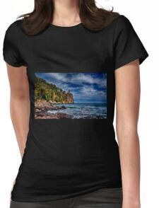 Silver Bay  Womens Fitted T-Shirt