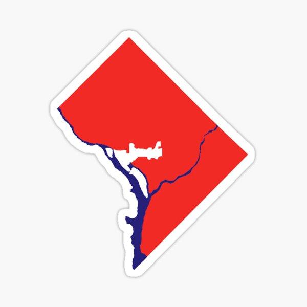 DC Statehood1 Sticker