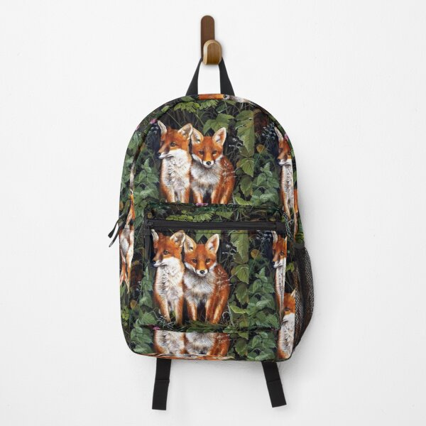 Red fox couple SKY Backpack