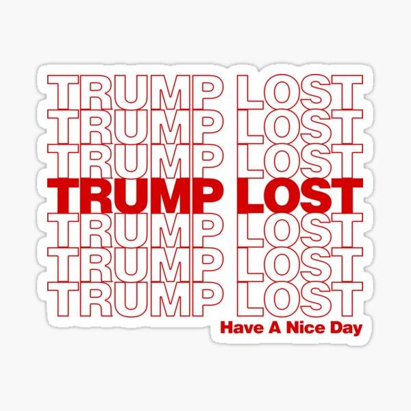 Trump Lost Sticker