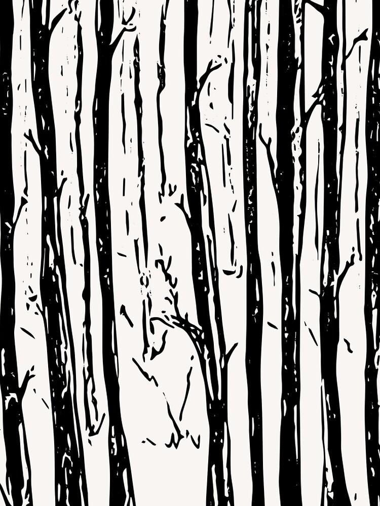 Winter Wald von RanitasArt