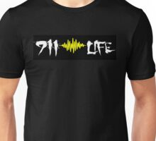911 Life gold soundwave Unisex T-Shirt