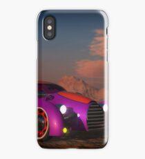 Grobo Car in a Desert Setting iPhone Case