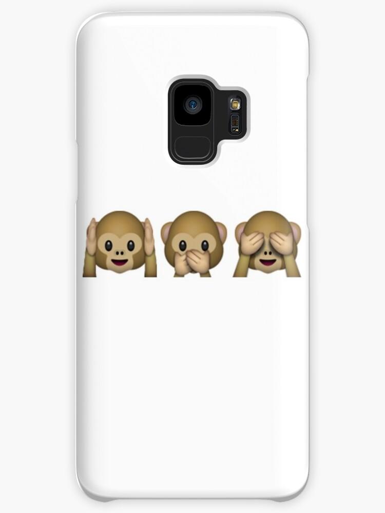 Monkey see monkey do emoji  by Starshield234