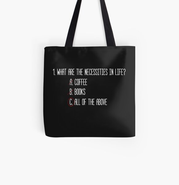 The Necessities 2 All Over Print Tote Bag