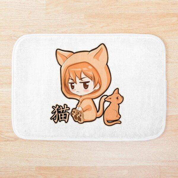 Chibi Kyo Cat Zodiac Fruits Basket  Bath Mat