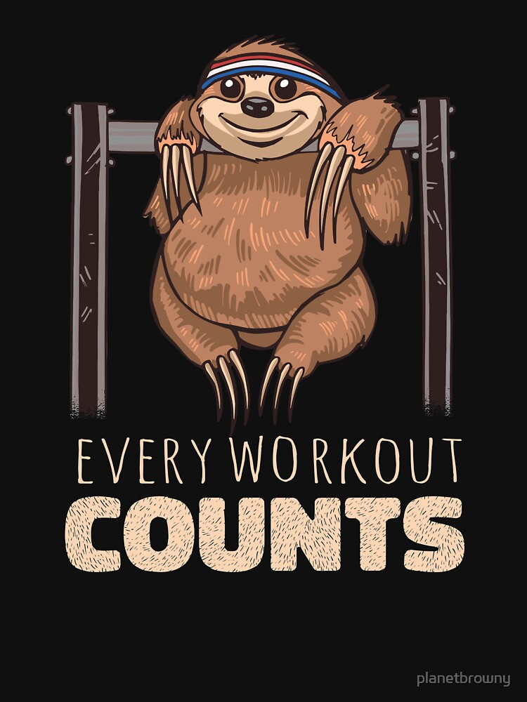 Every workout counts von planetbrowny