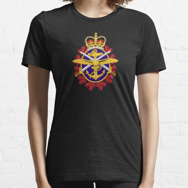 Canadian Armed forces coat of arms flag Essential T-Shirt