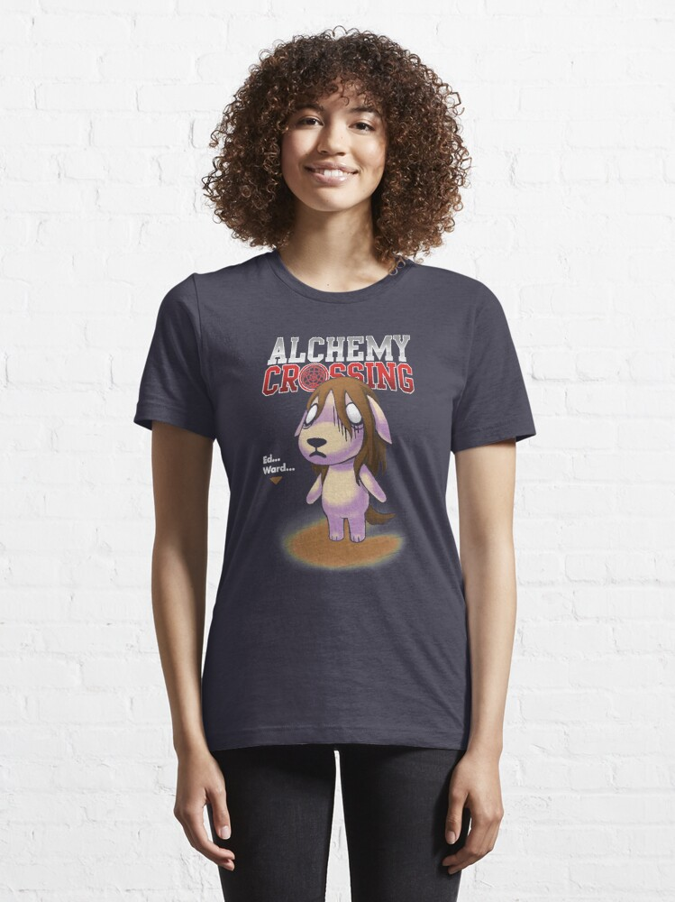 Alternate view of FMA Animal Crossing Alchemy - Funny Crossover  Essential T-Shirt