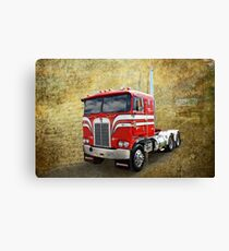 Cabover Kenny Canvas Print