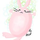 Fat Bubbly Bunny by Patricia Lupien