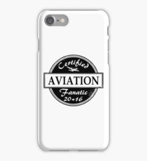 Aviation Fanatic iPhone Case/Skin