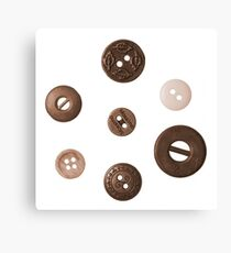 Button and Weight Canvas Print