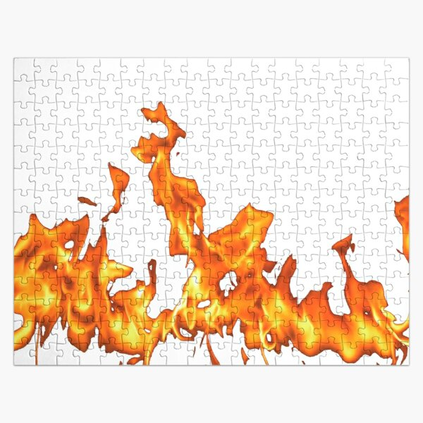 #Flame, #Forks of flame, #Spurts of flame, #fire, light, flames Jigsaw Puzzle