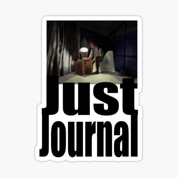 Just Journal Sticker