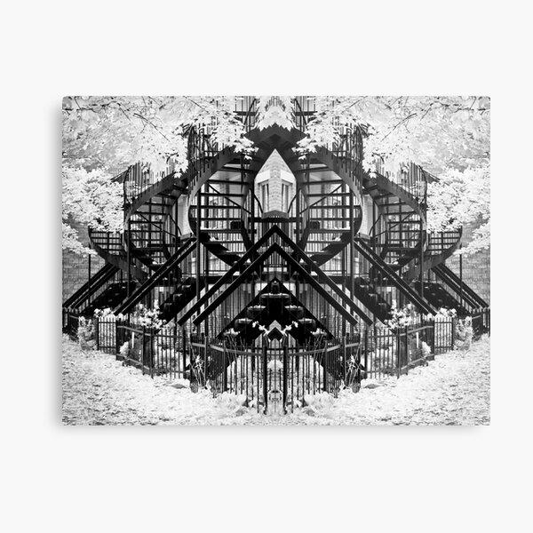 Montreal Abstract Metal Print
