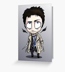 Castiel - The Littlest Angel of the Lord Greeting Card