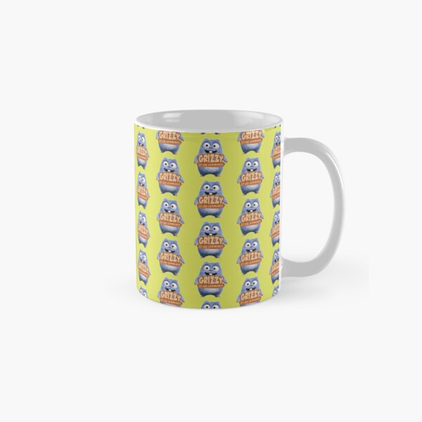 Grizzy and the Lemmings Favorite Yellow Collection Classic Mug
