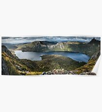 Lake Dove Panorama Poster