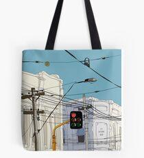 Melbourne Street Scene Tote Bag