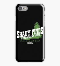 Shady Pines iPhone Case/Skin