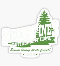 Shady Pines Sticker