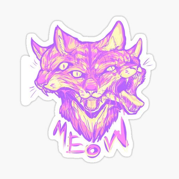 pastel meow Sticker