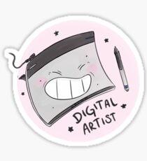 Digital Artist Love Sticker