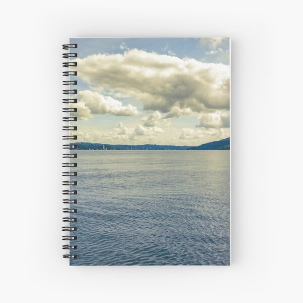 Big Skies, Windermere Spiral Notebook