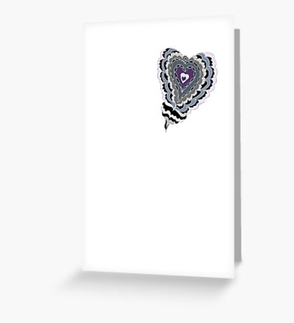Tiled Heart Greeting Card