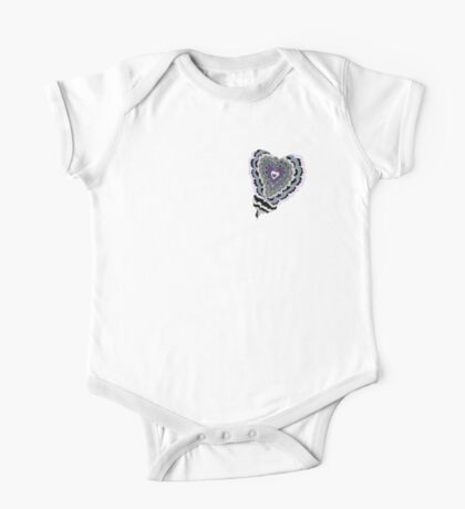 Tiled Heart Kids Clothes