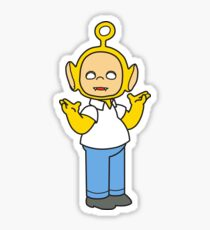 Acid homer Sticker