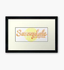 sunnydale Framed Print