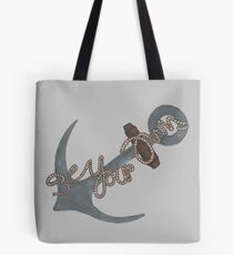 """""""Be Your Own Anchor"""" Teen Wolf Tote Bag"""