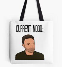 Sad Ben Affleck Cartoon Tote Bag