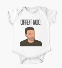 Sad Ben Affleck Cartoon Kids Clothes