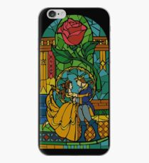 Beauty and The Beast - Stained Glass iPhone Case