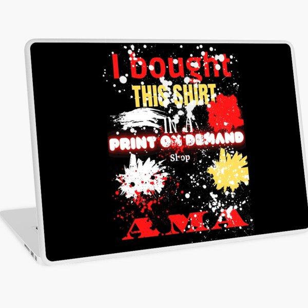 Print on demand Laptop Folie