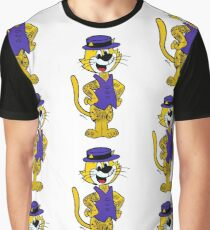 Top Cat inked up. Original artwork by WRTISTIK. Graphic T-Shirt