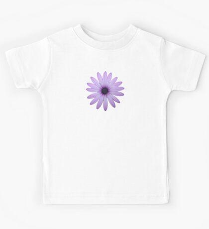 Mauve Flower Tee Kids Clothes