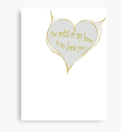 Hearty Greeting Canvas Print
