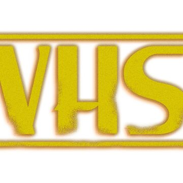 VHS Logo T-Shirt by DickChappy01