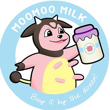 Moomoo Milk; Buy it by the Dozen! by Bowieisgod