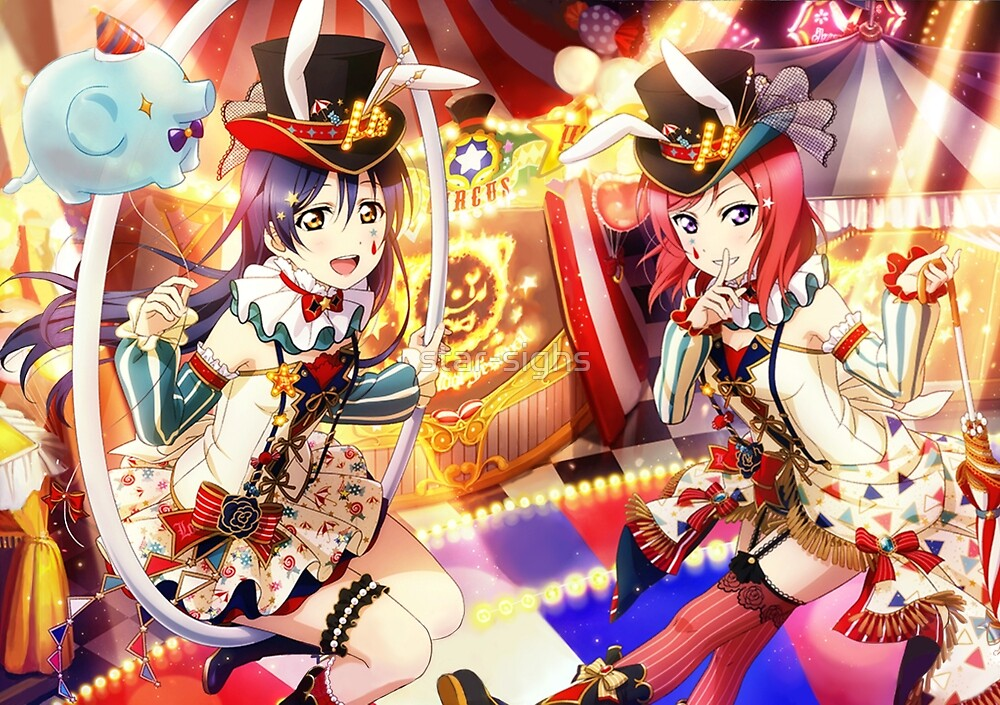 Details about Love Live Circus Awakening Hoshizora Rin ...