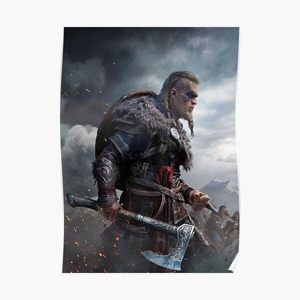 Eivor Assassins Creed Valhalla Poster