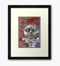 gimp girl Framed Print