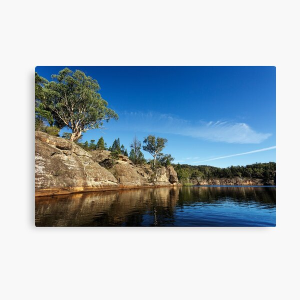 Cliff side Canvas Print