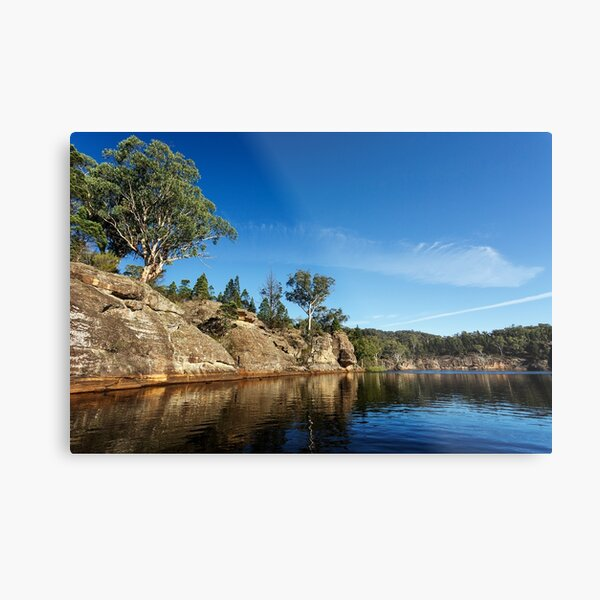 Cliff side Metal Print